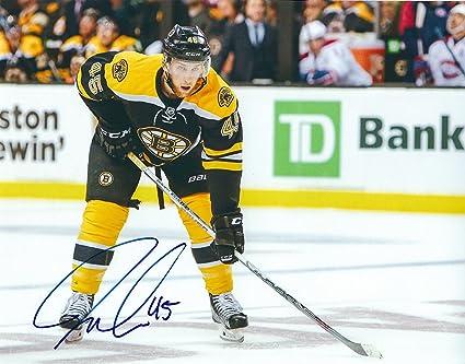 san francisco 7482f 4986a Autographed Joe Morrow 8X10 Boston Bruins Photo at Amazon's ...