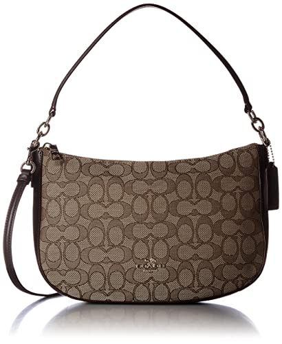 9fa7d44b653a0 Amazon.com: COACH Women's Chelsea Crossbody Li/Khaki/Brown One Size ...