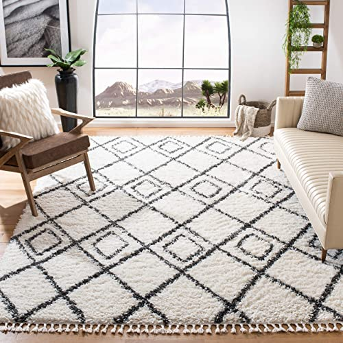 Safavieh Moroccan Tassel Shag Collection MTS335A Area Rug