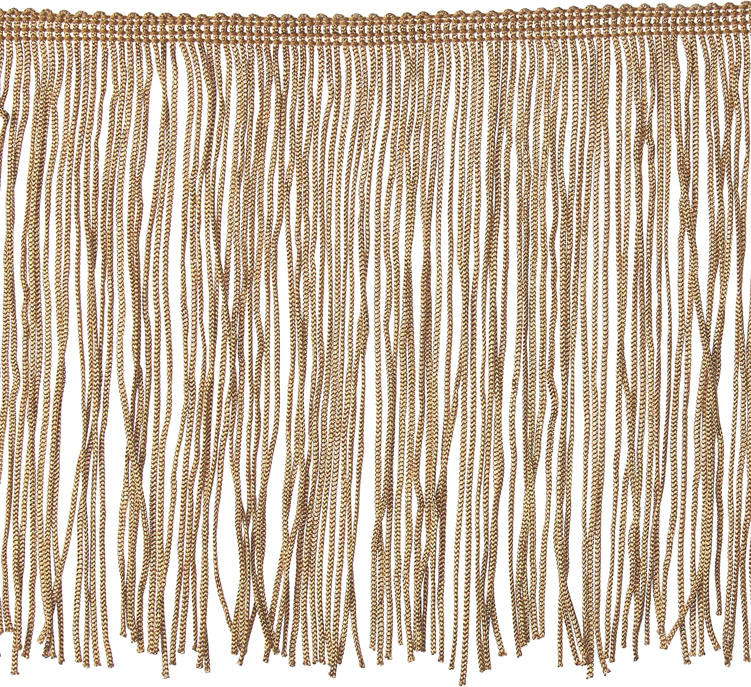 Expo International 10 Yards of 2 Chainette Fringe Trim White