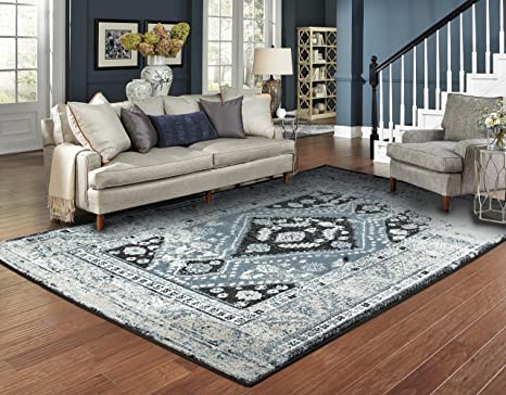Amazon Com Large Distressed Area Rugs For Living Room 8x10