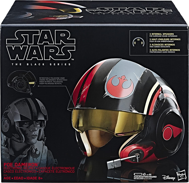 Star Wars Poe X Wing Fighter Costume Accessory Helmet Prop The Force Awakens Boy