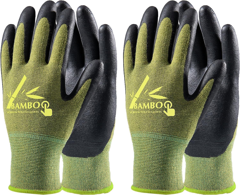 Extra Grip Gloves,Gardening Work Glove,Latex,Men Women Unisex one Size