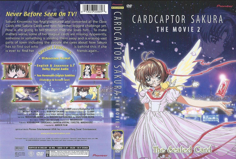 amazon com cardcaptor sakura the movie 2 the sealed card