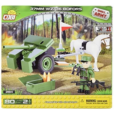 COBI Small Army 37mm WZ. 36 Bofors: Toys & Games