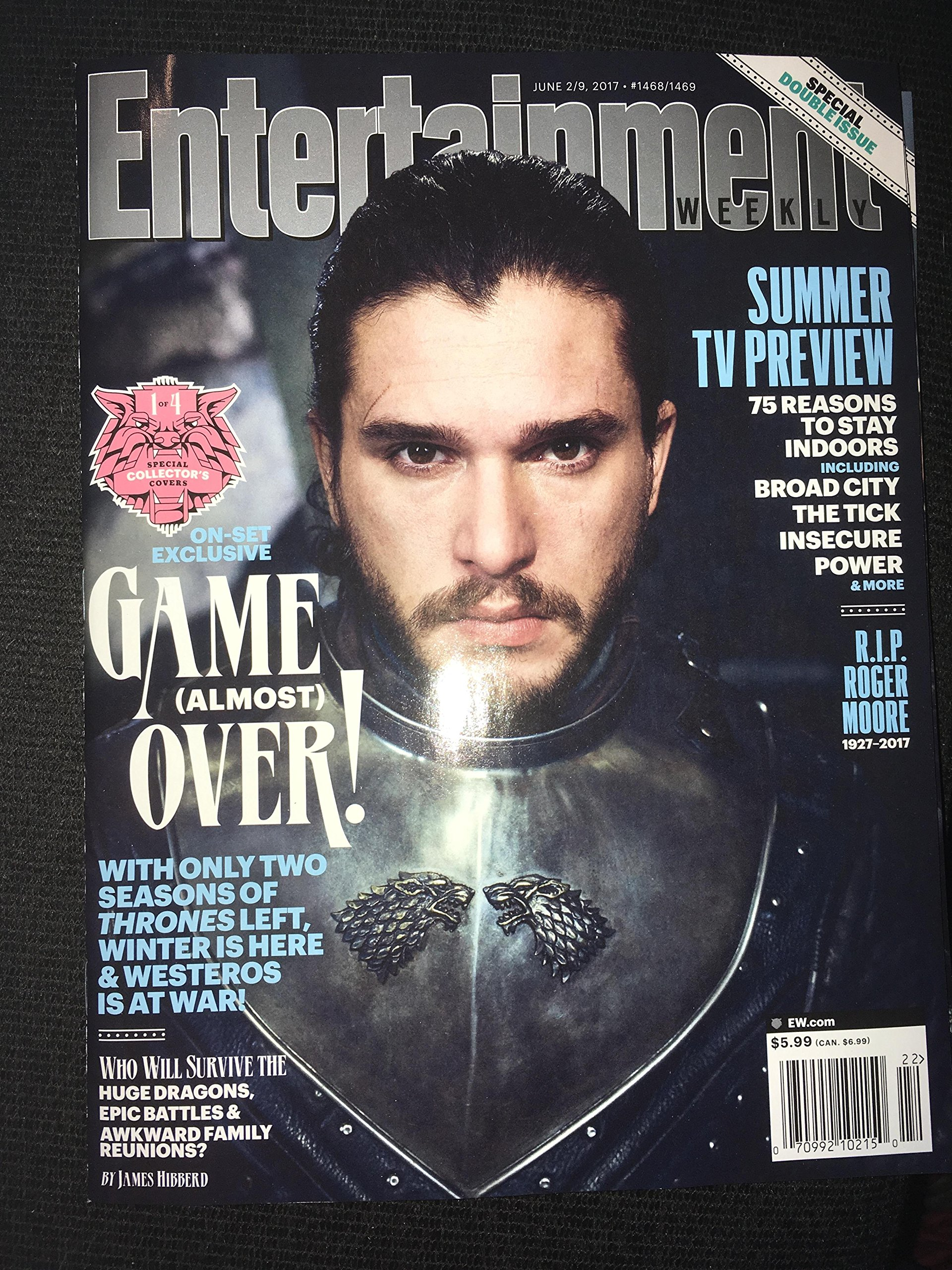 Game of thrones season 7 preview Entertainment weekly all 4 collectors magazines june 2017 pdf