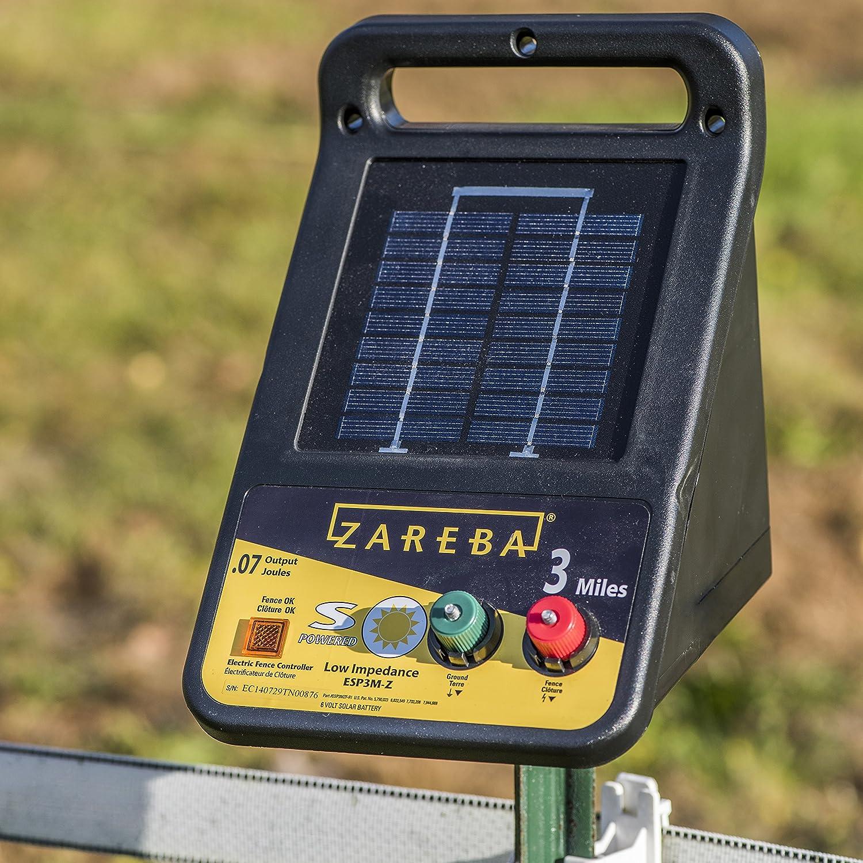 zareba esp3m z 3 mile solar low impedance charger