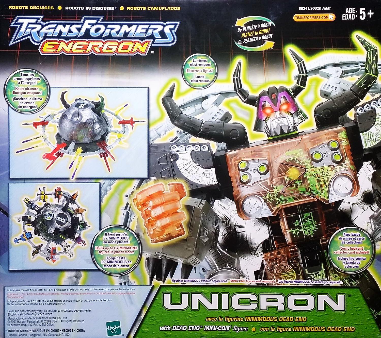 Transformers Energon Unicron Black Variant ~ ToysRUs Exclusive