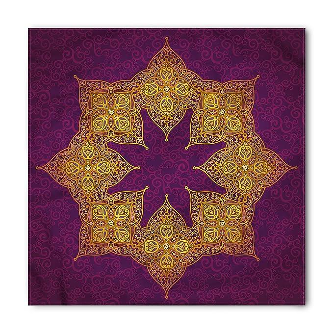 amazon com purple bandana by lunarable traditional mandala