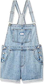 Macacão Jeans Levis Feminino Vintage Azul Claro
