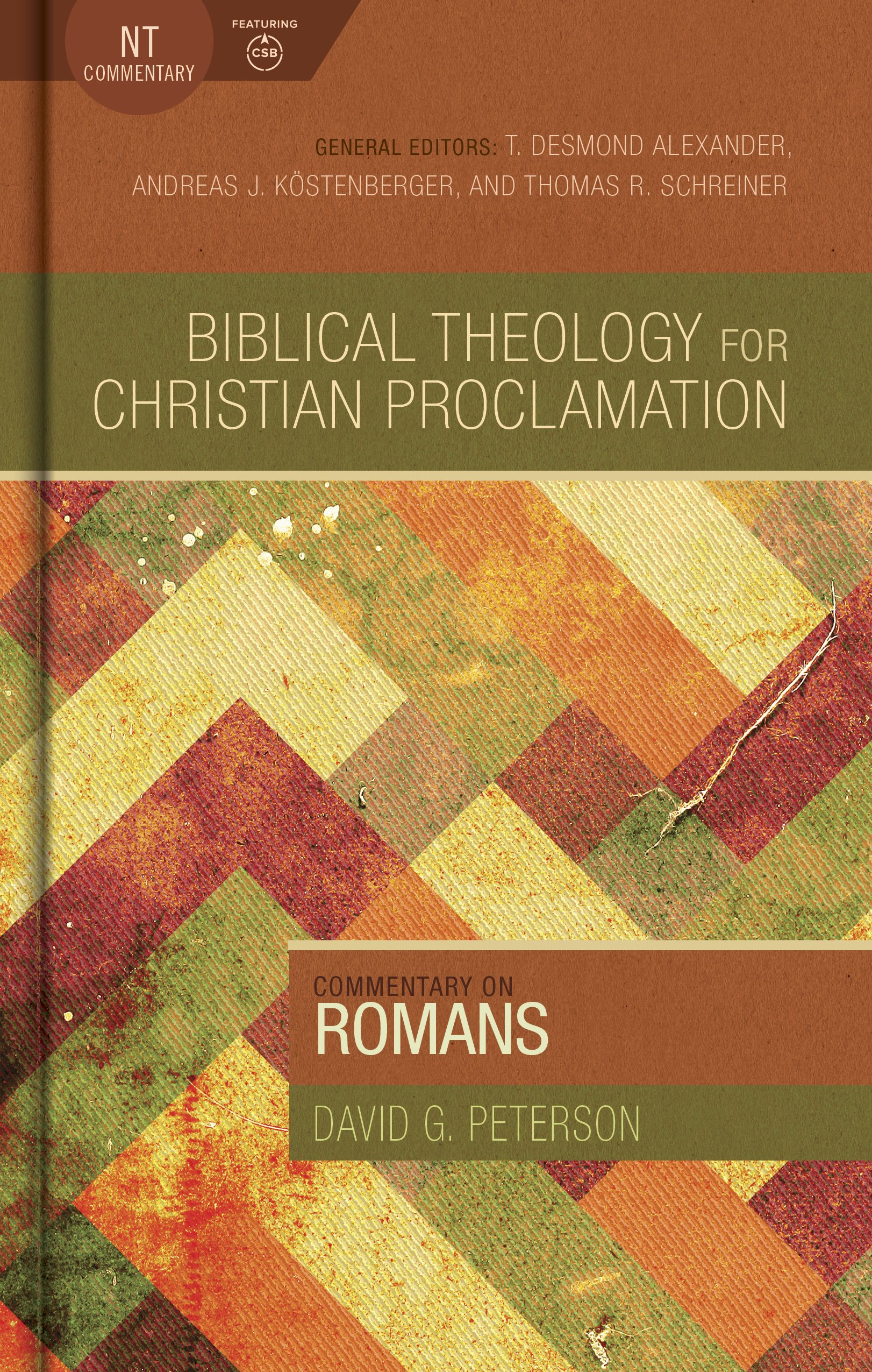 Commentary on romans biblical theology for christian proclamation commentary on romans biblical theology for christian proclamation david g peterson 9780805496222 amazon books sciox Gallery