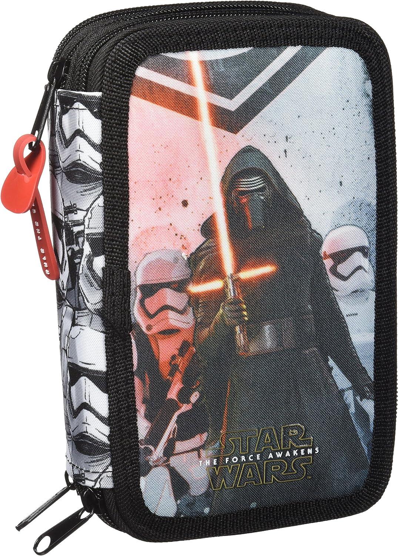 Safta Estuche Star Wars Episodio Vii Oficial 41 Útiles Incluidos 210x60x105mm: Amazon.es: Juguetes y juegos