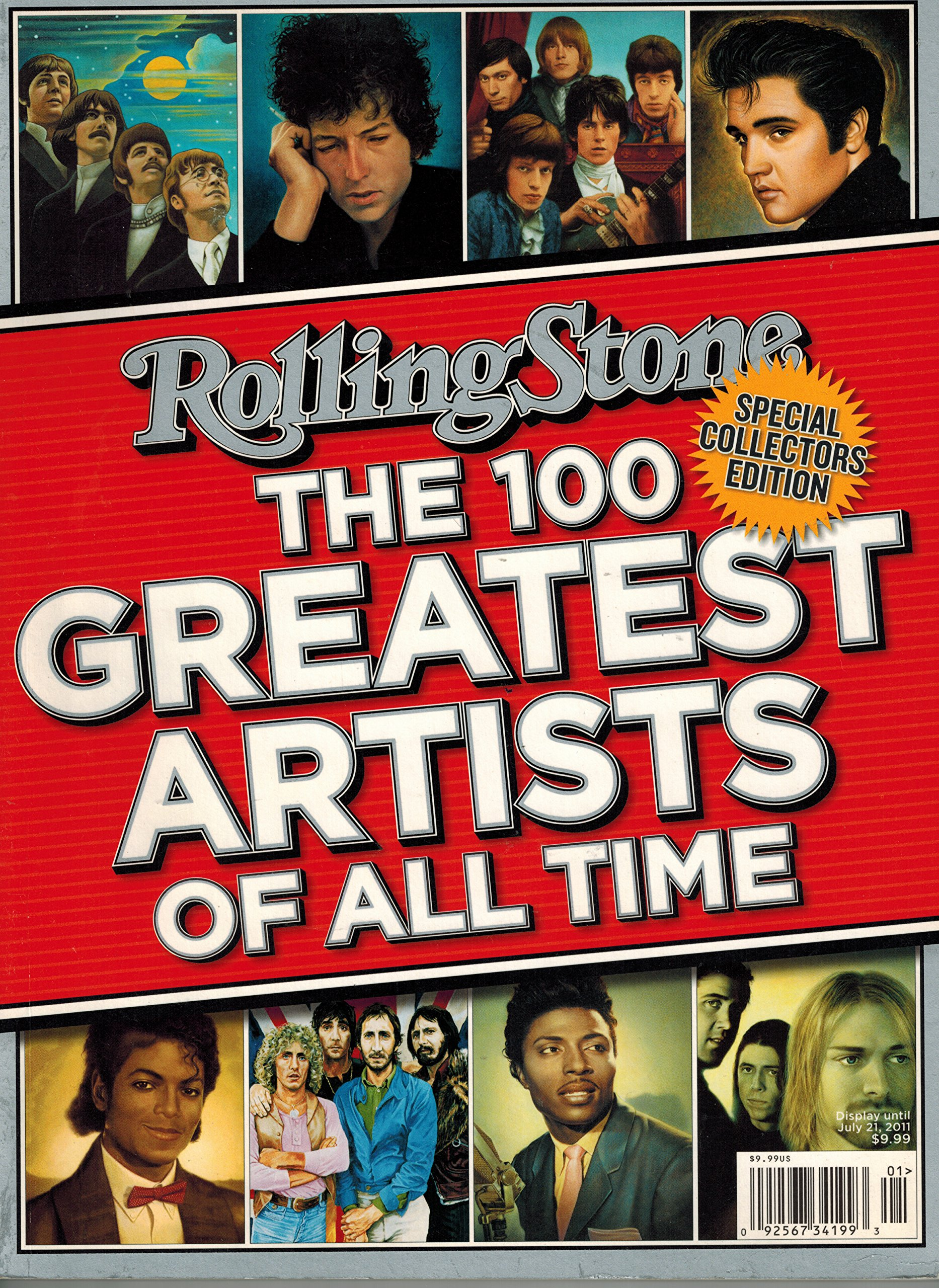 Rolling Stone the 100 Greatest Artists of All Time (Special Collectors Edition) ebook