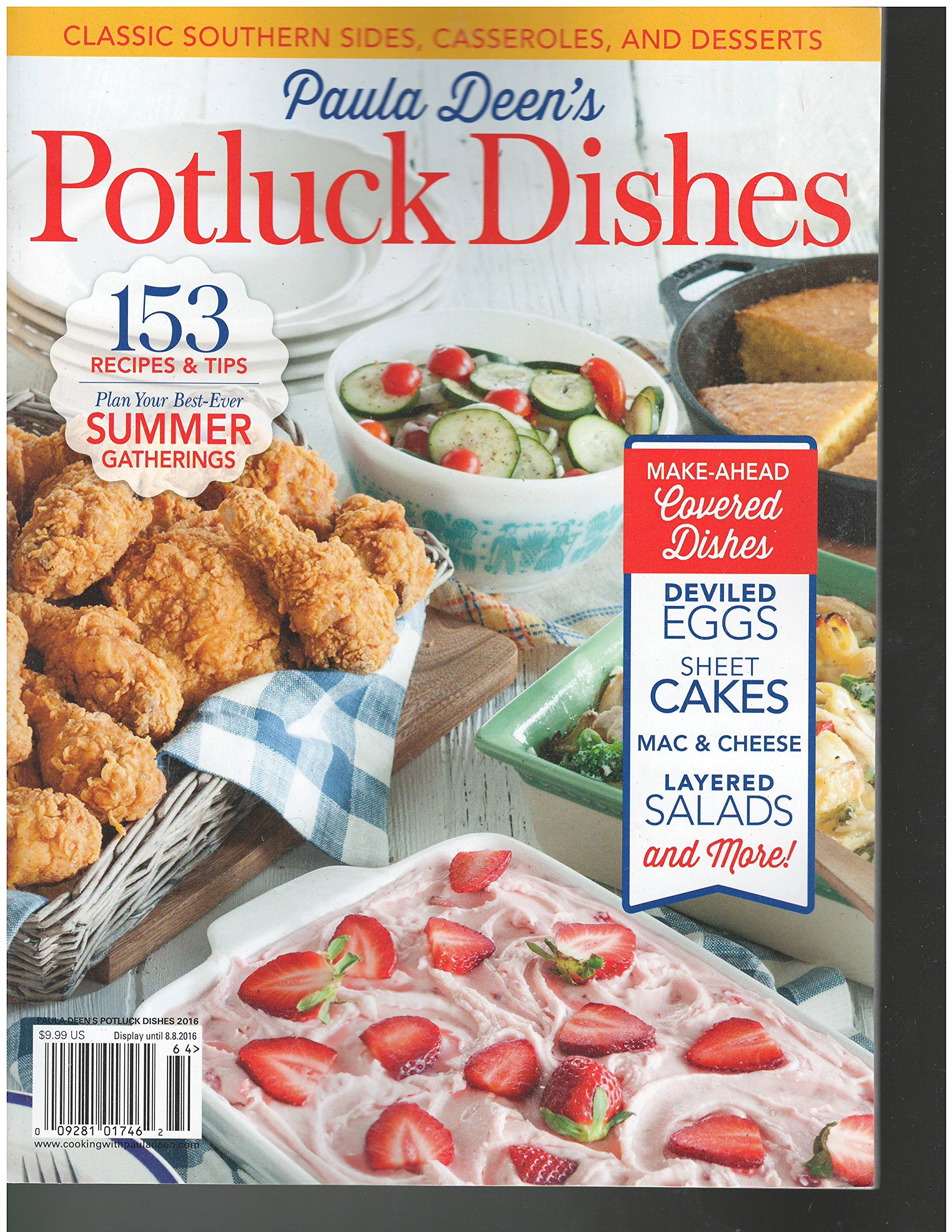 Paula Deen's Potluck Dishes Magazine 2016 ebook