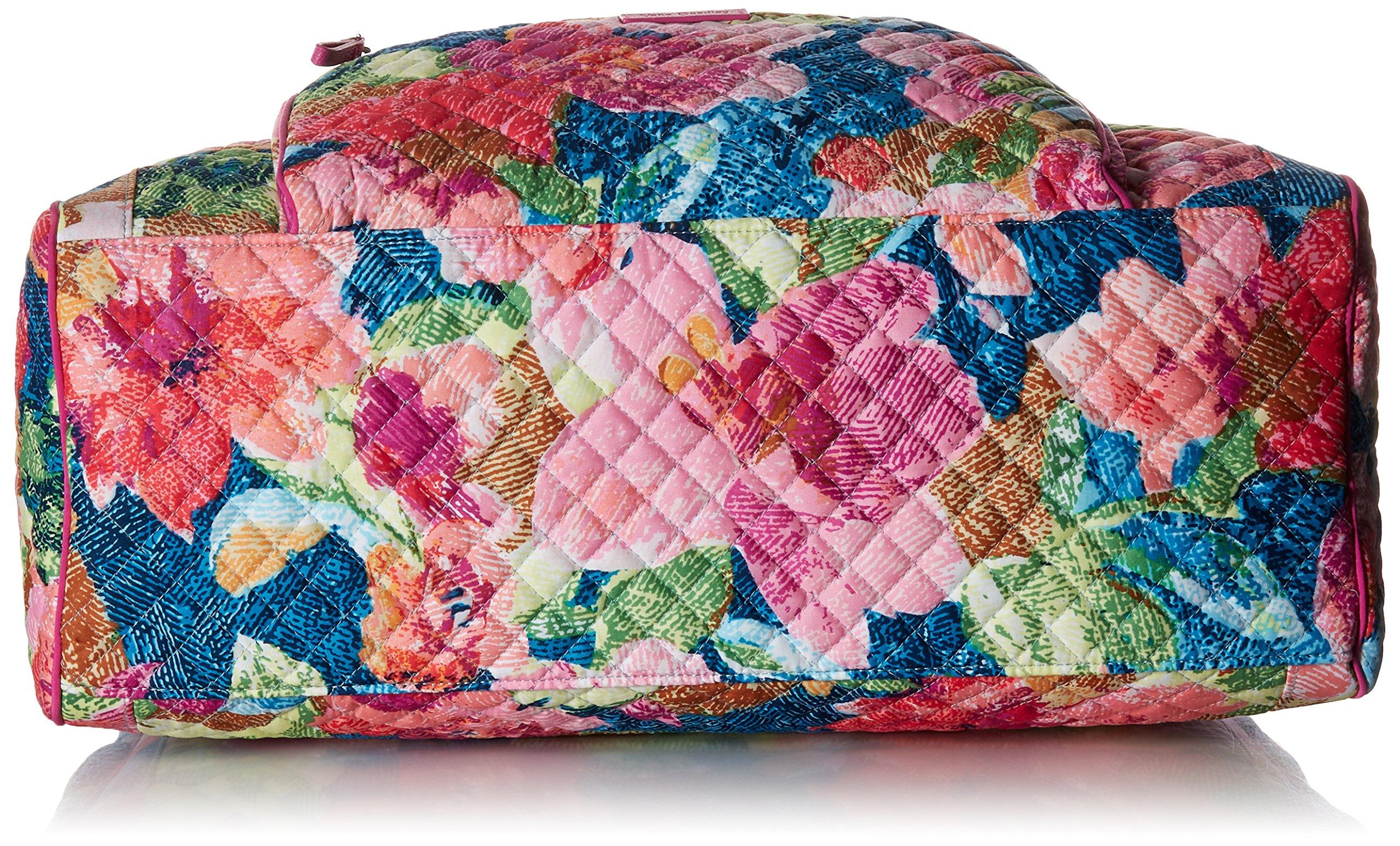 Vera Bradley Iconic Weekender Travel Bag, Signature Cotton, Superbloom by Vera Bradley (Image #5)