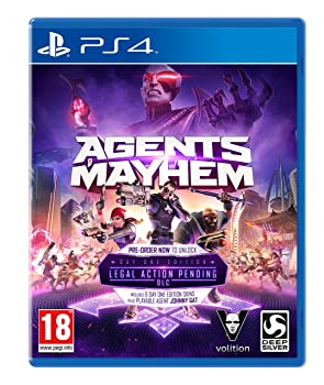 Agents Of Mayhem Day One [PS4]