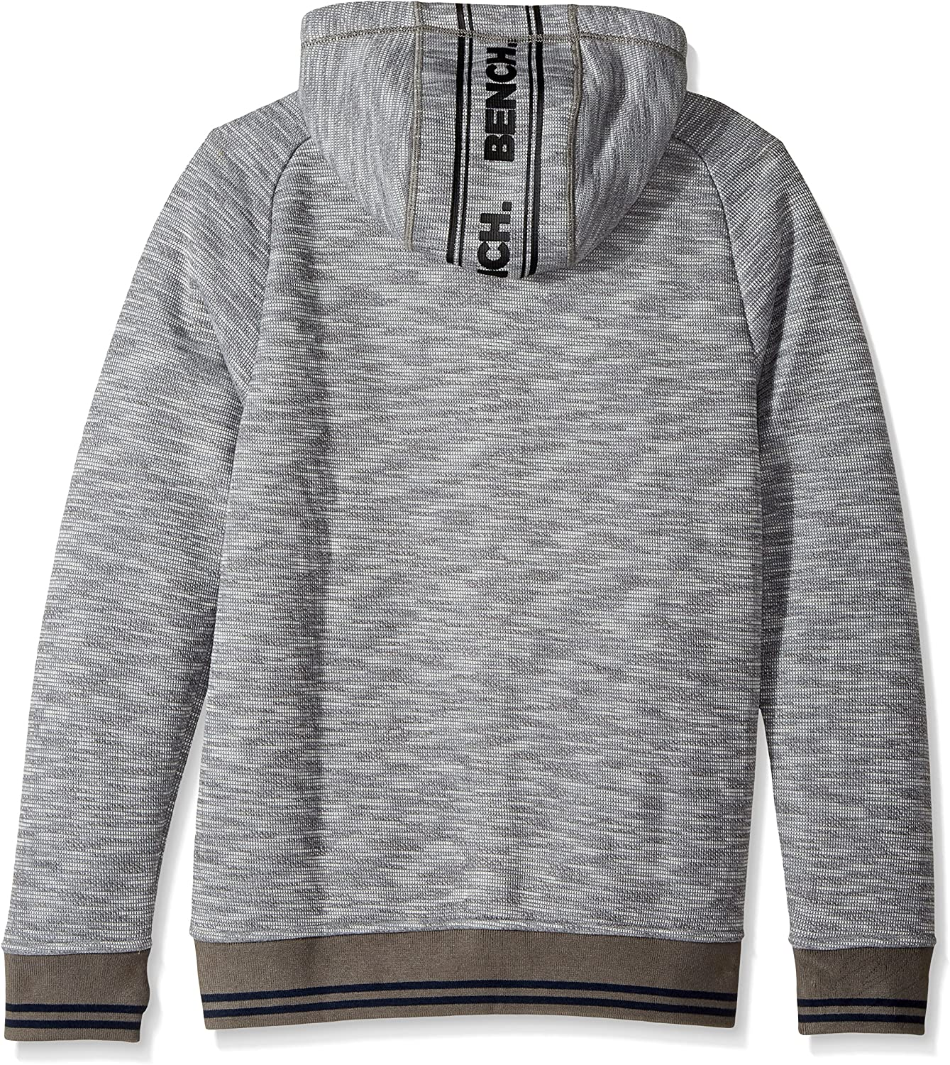 Bench Mens Bonded Hoody with Logo Print