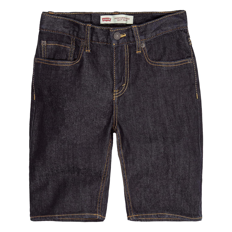 3a4dc7b6dcc7 Amazon.com: Levi's Boys' 511 Slim Fit Performance Shorts: Clothing