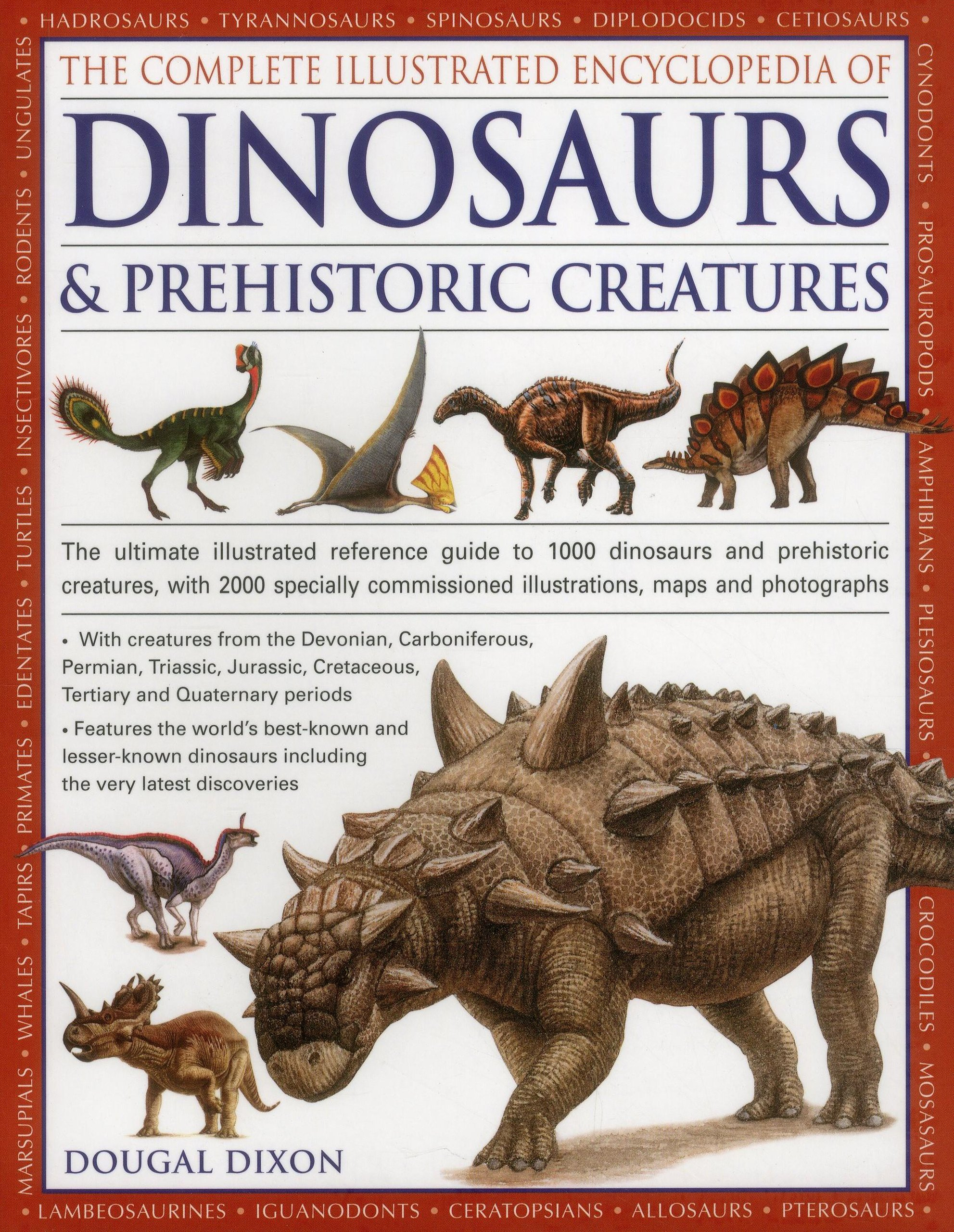 Dinosaurs discovery prehistoric creatures book