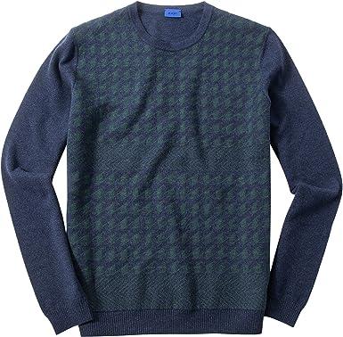 JOOP! Herren Pullover Sweater Gemustert, Größe: L, Farbe