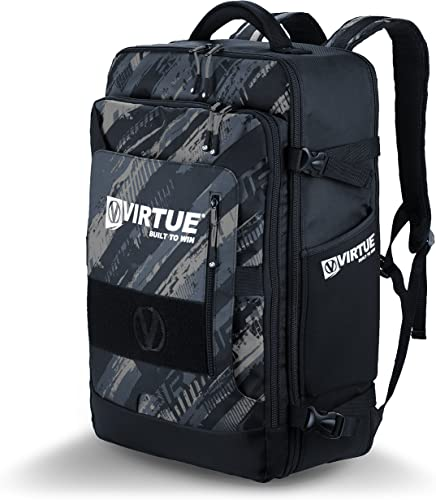 VIRTUE Gambler Backpack - Lightweight Expandable Gear Bag - 4400 CI Storage Capacity