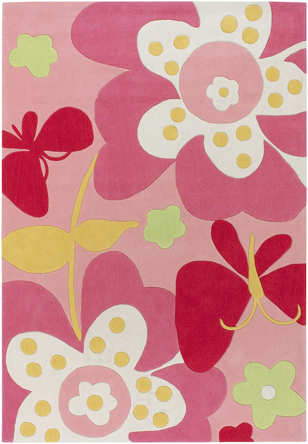 Pink Flower Rug Flowers Ideas For Review