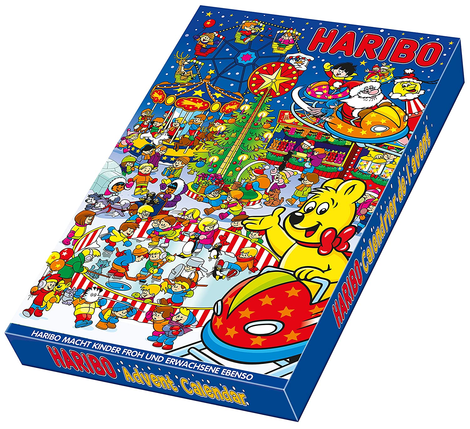 haribo advent calendar candy