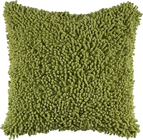 Rizzy Home T04049 Decorative Pillow, 18 X18 , Citrus Green