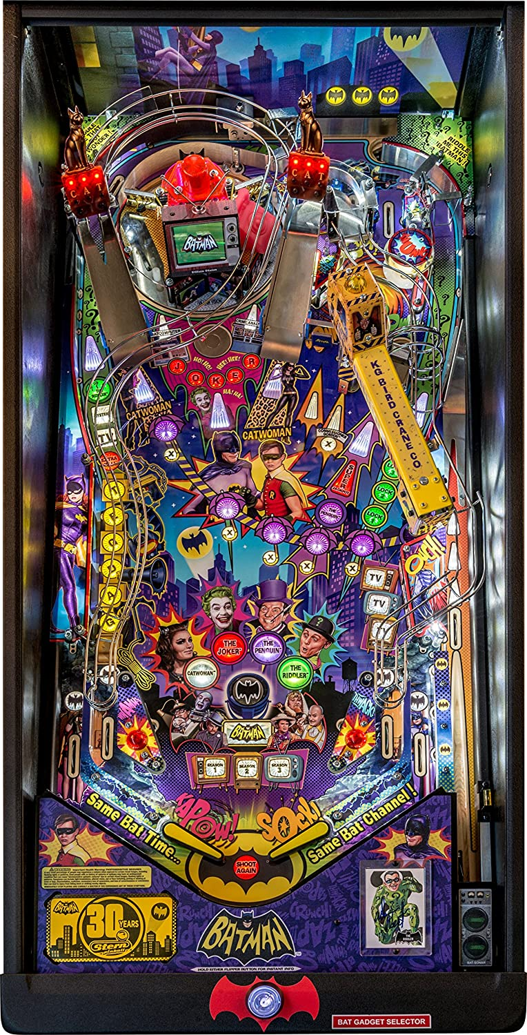 Amazon com : Stern Pinball Batman '66 Premium Arcade Pinball Machine