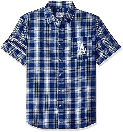 Amazon Com Foco Klew Mlb Los Angeles Dodgers Wordmark Flannel