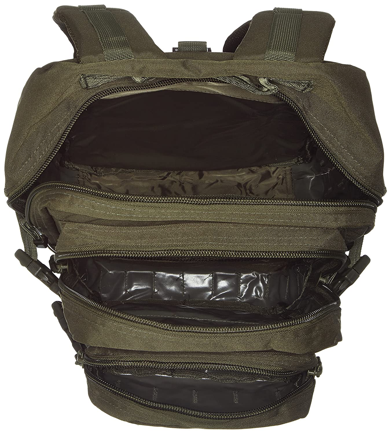 Amazon.com : Mil-Tec Military Army Patrol Molle Assault Pack Tactical Combat Rucksack Backpack Bag 36L Olive Green : Tactical Bag : Sports & Outdoors