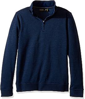 8671dec3f8 Amazon.com: Under Armour Boys Infrared fleece 1/4 Zip: Clothing