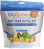 Bluapple with Activated Carbon One-Year Refill Kit