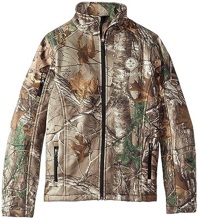 Dunbrooke Apparel NFL Huntsman Realtree Xtra Camoflauge Softshell Jacket   Amazon.in  Sports 6a8014cd3