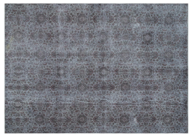 Bespoky ビンテージ 手織 ラグ グレー 大きいサイズ 209 X 292 Cm   B07HNDRQY3
