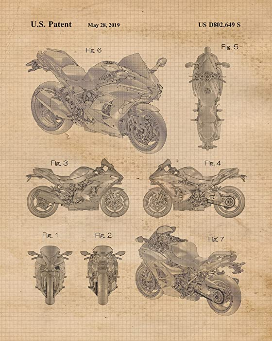 Top 10 Kawasaki Ninja Poster