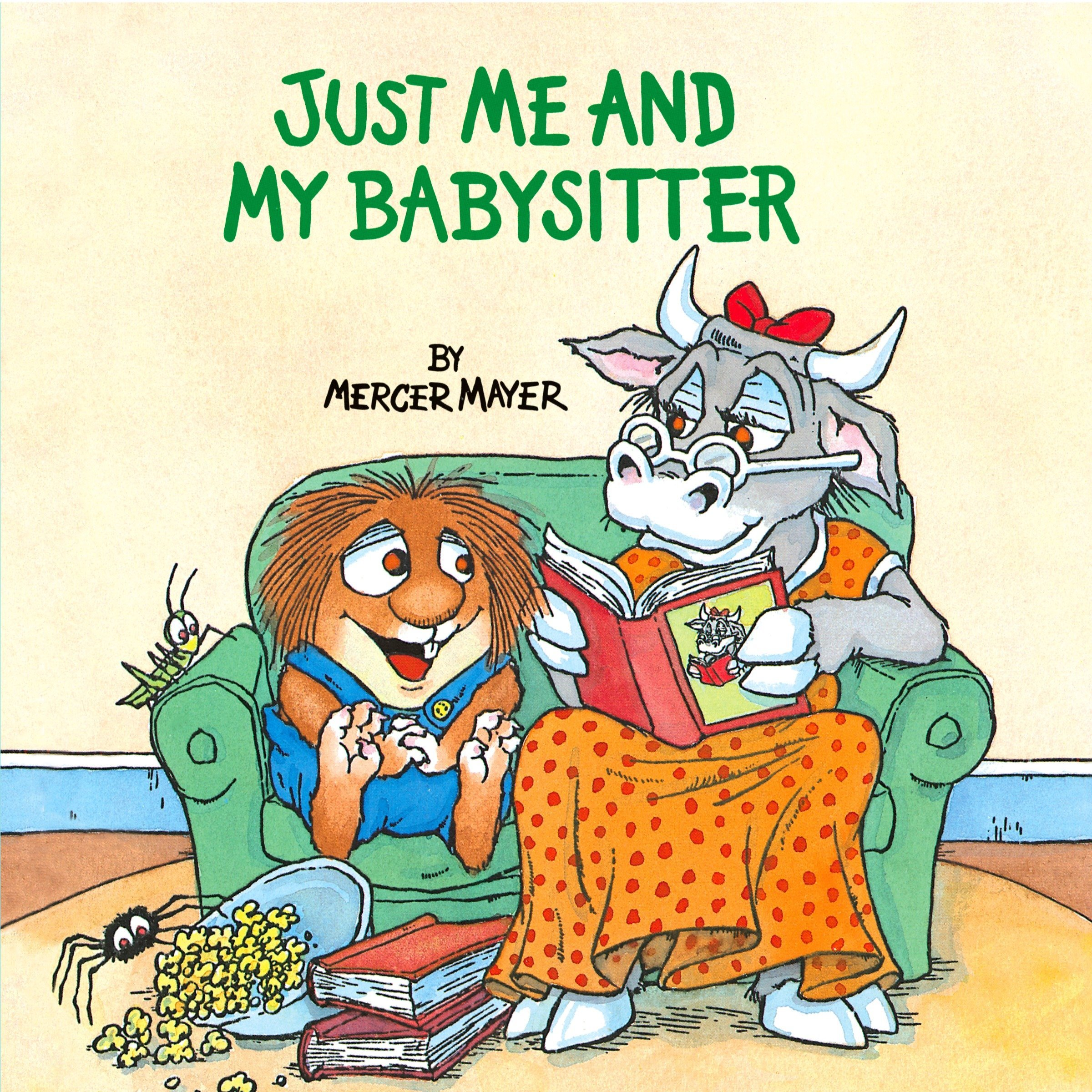 just me and my babysitter mercer mayer 0033500819452 amazon com