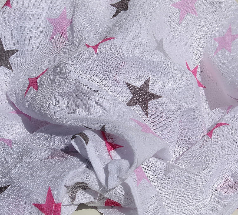 Mandala-Bigstar aqua ClevereKids Mullt/ücher Sterne Mond /& Co Set 6 St/ück Mullwindeln /Öko-Tex zertifiziert