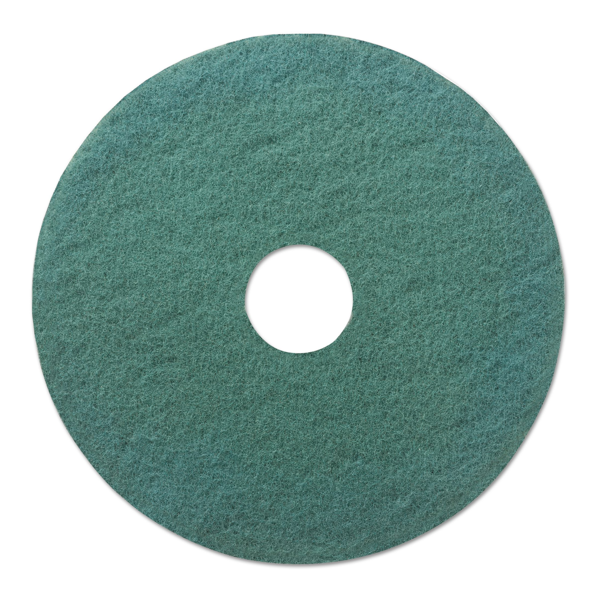 Boardwalk 4020GRE Standard Floor Pads, 20'' Diameter, Green (Case of 5) by Premiere Pads