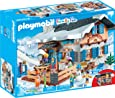 Playmobil - Chalet avec Skieurs, 9280