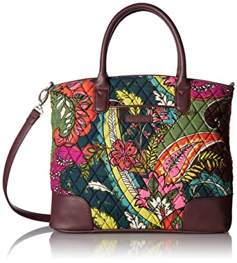 Amazon.com  Vera Bradley Day Off Satchel 8bc4f181ca350