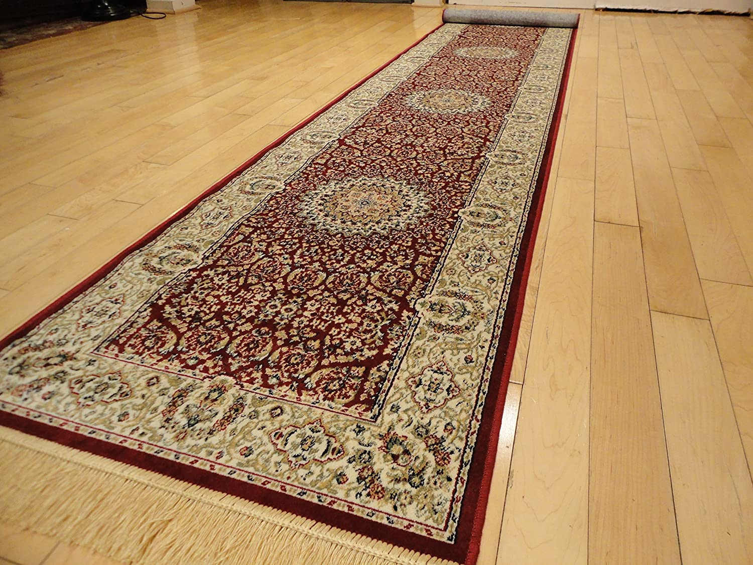 Silk Rugs Stunning Persian Design Runner 2x8 Red Runners Foyer Rugs 2x7 Runners Rug Hallway (Red, 2