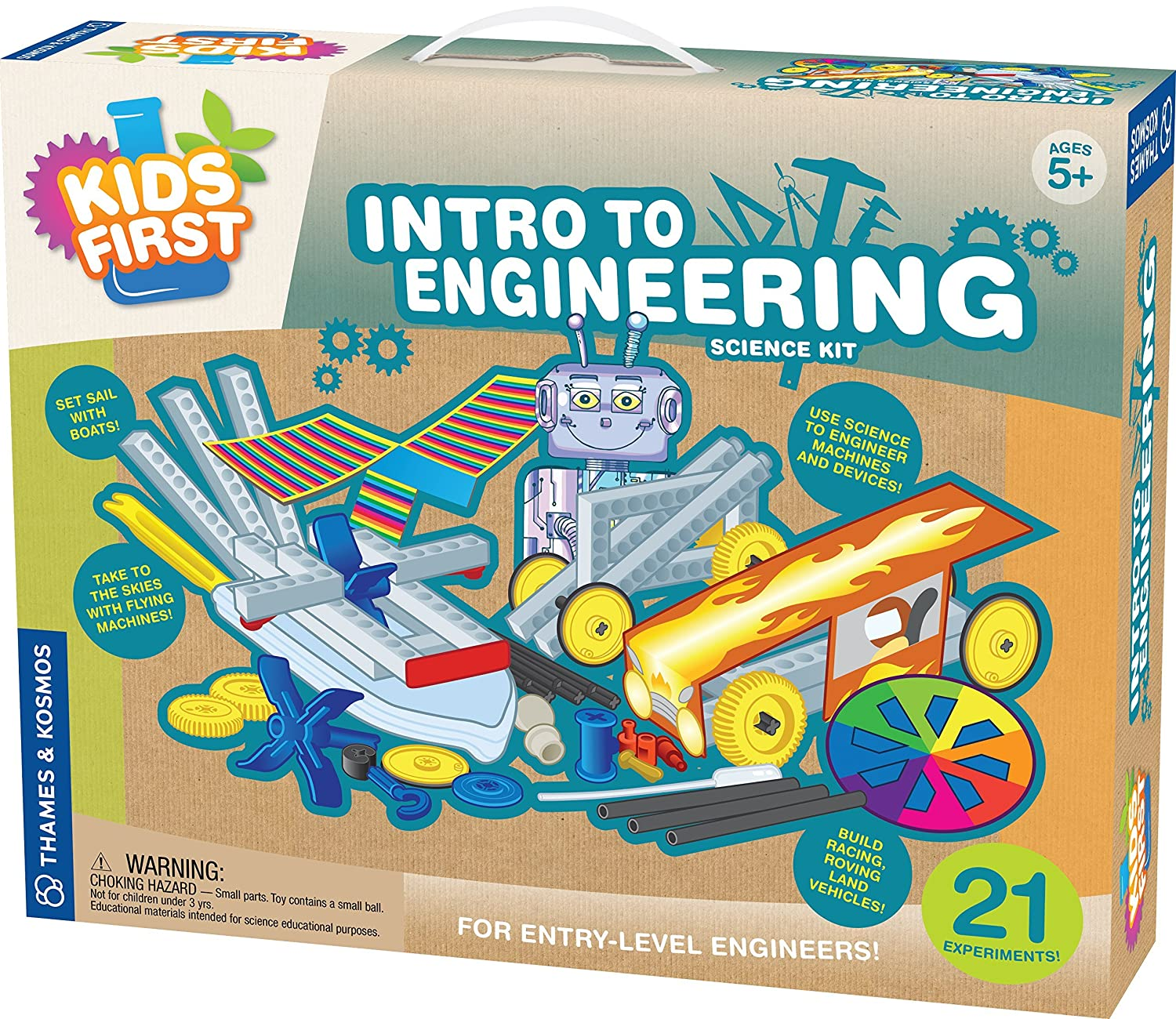Amazon Kids First Intro to Engineering Kit Toys & Games