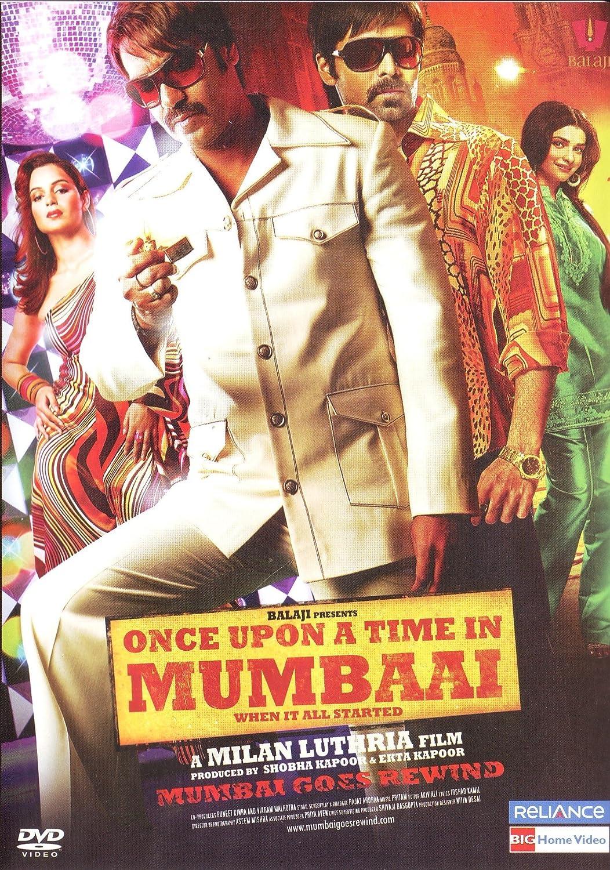 Amazon Once Upon A Time In Mumbai New Hindi Film Bollywood Movie Indian Cinema DVD Ajay Devgan Emraan Hashmi Kangana Ranaut Prachi Desai