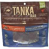 Tanka Trail Mix, Slow Smoked Buffalo Bites with Blueberry, 3 oz.
