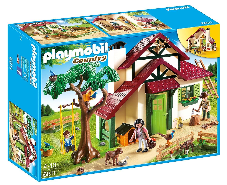 Playmobil 6811 Wildlife Forest Rangers House