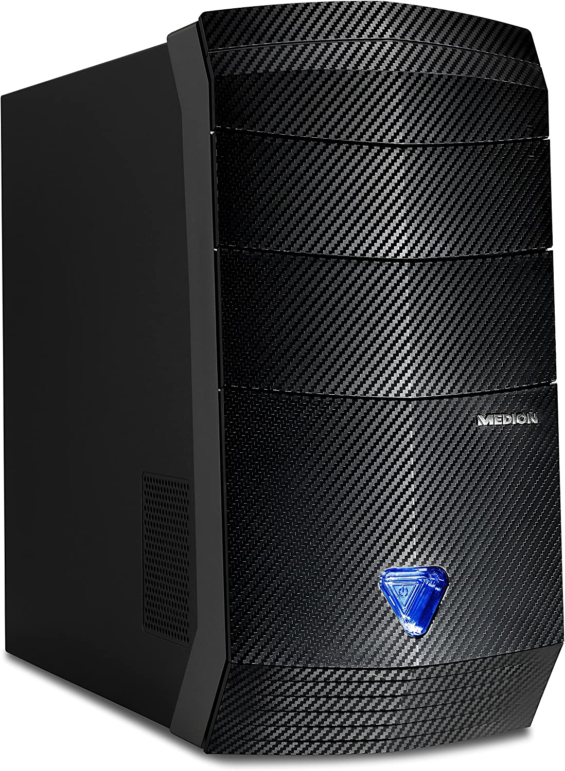 MEDION ERAZER P4609 D - Ordenador de sobremesa (Intel Core i7-7700, 8 GB de RAM, HDD de 1 TB + SSD de 120 GB, NVIDIA GeForce GTX 1060, Windows 10 Home) negro