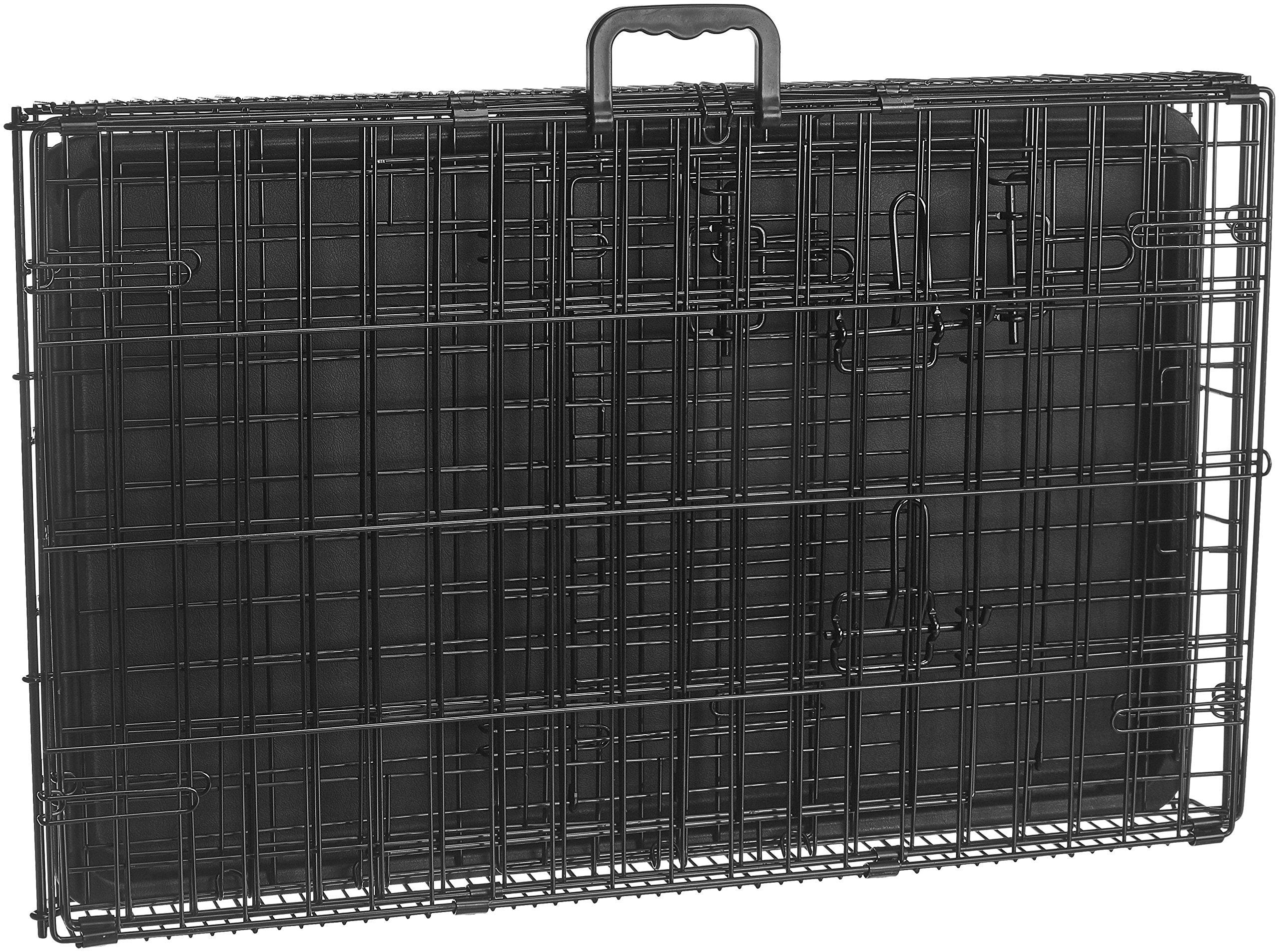 AmazonBasics Double-Door Folding Metal Dog Crate - 30 Inches by AmazonBasics (Image #8)