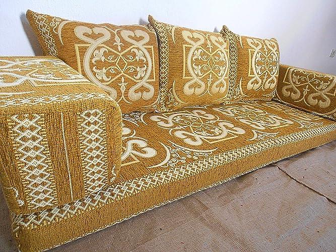 Traditional Oriental Floor Seating,floor Sofa,arabic Cushions,arabic  Seating,arabic Couch