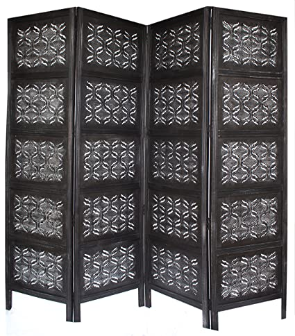 Amazon.com: Cotton Craft Chitra - Antique Pewter 4 Panel Handcrafted ...
